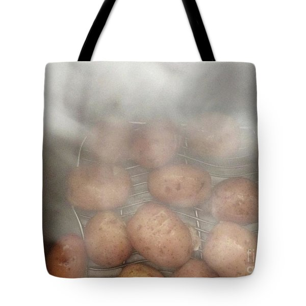 Tote Bag featuring the photograph Hot Potato by Kim Nelson