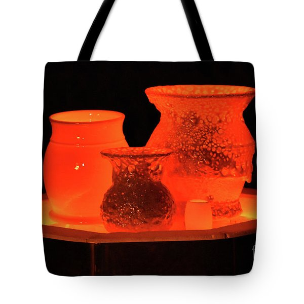Tote Bag featuring the photograph Hot Pots by Skip Willits