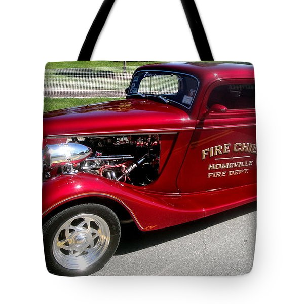 Hot Rod Chief Tote Bag