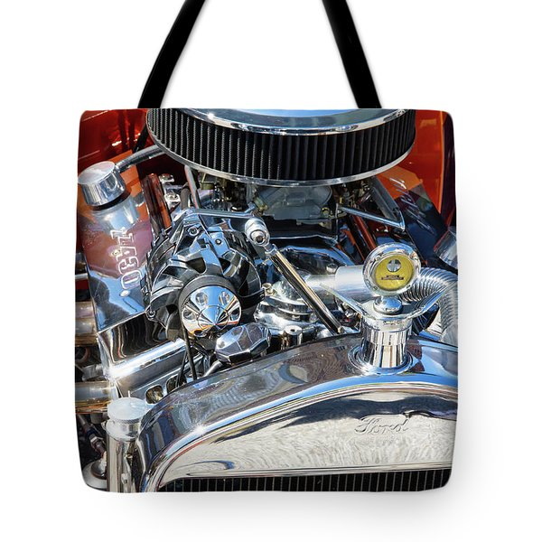 Hot Rod Engine 2 Tote Bag