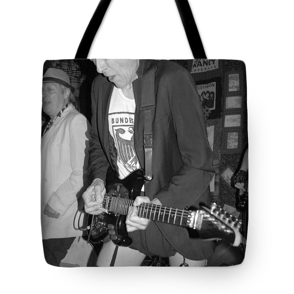 Hot Rod Guitar Man Tote Bag