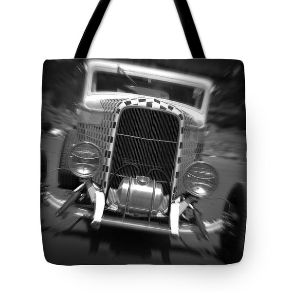 Hot Rods At Pendine 11 Tote Bag