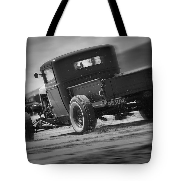 Hot Rods At Pendine 13 Tote Bag