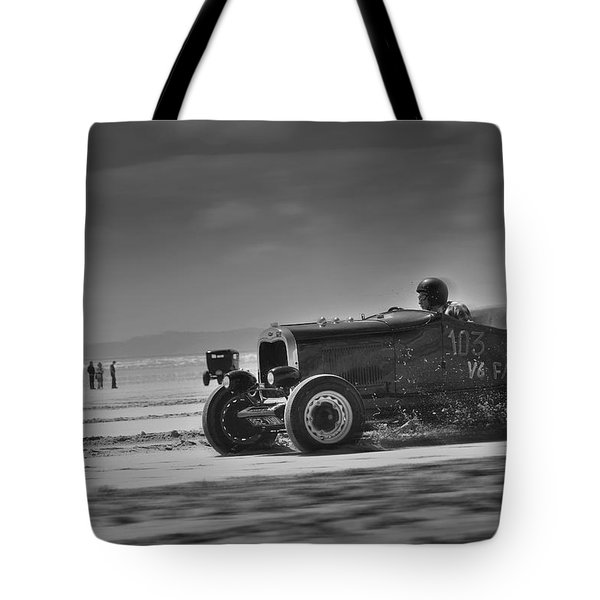 Hot Rods At Pendine 14 Tote Bag