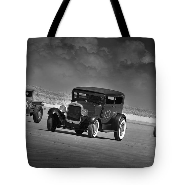 Hot Rods At Pendine 15 Tote Bag