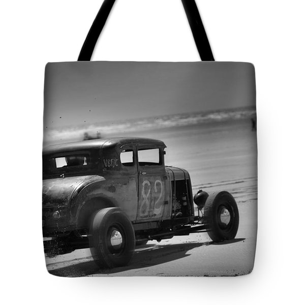 Hot Rods At Pendine 12 Tote Bag