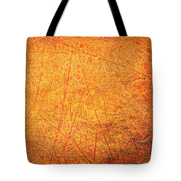 Tote Bag featuring the digital art Hot Scratch by Lenny Carter