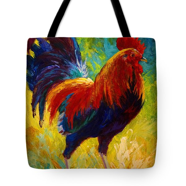 Hot Shot - Rooster Tote Bag