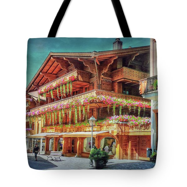 Tote Bag featuring the photograph Hot Spot by Hanny Heim