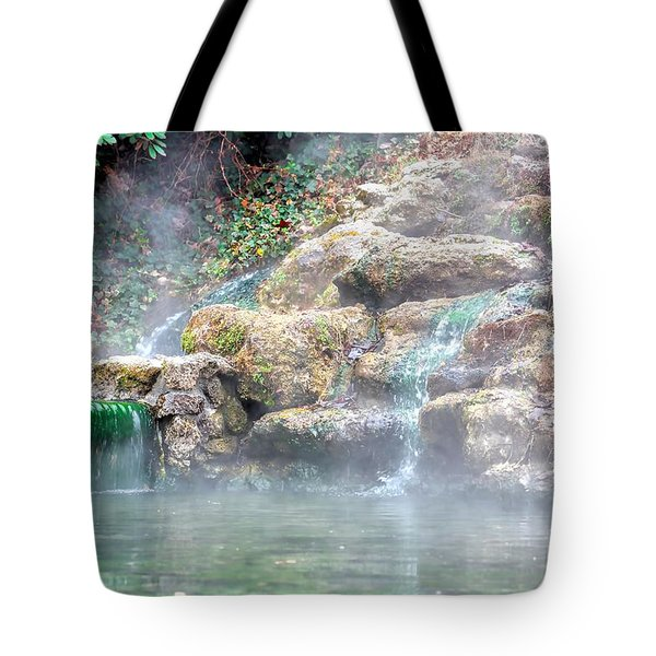 Tote Bag featuring the photograph Hot Springs In Hot Springs Ar by Diana Mary Sharpton
