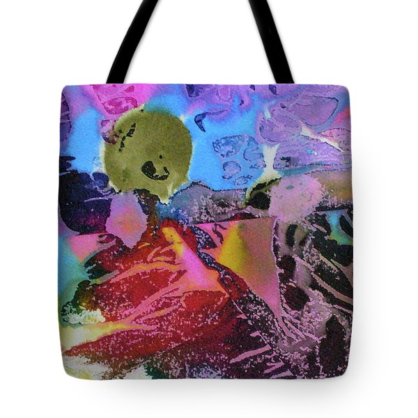 Tote Bag featuring the painting Hot Stuff by Mary Sullivan