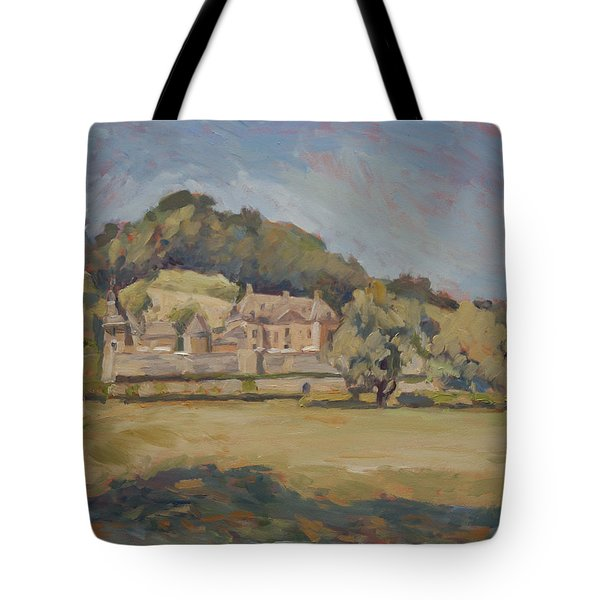 Hot Summer Day At Chateau Neercanne Tote Bag