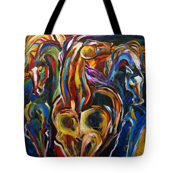 Hot Summer Night Tote Bag