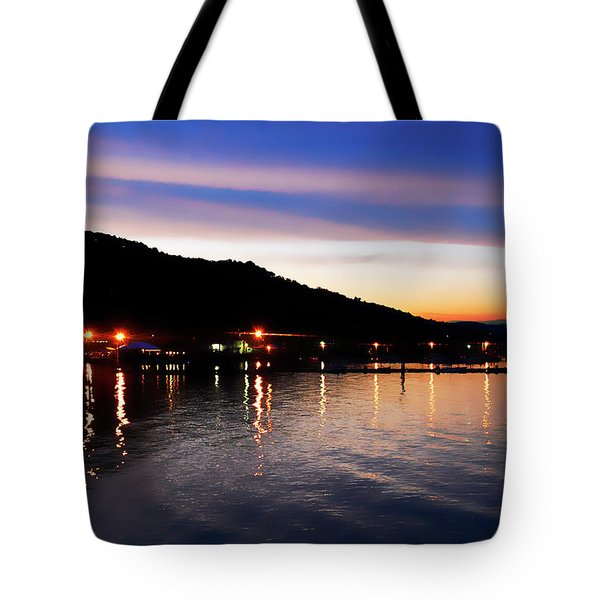 Hot Summers Night Tote Bag
