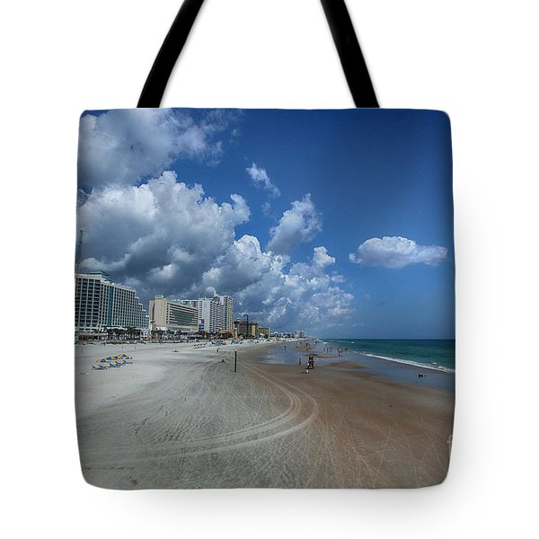 Hot Times In The Summertime Tote Bag by Judy Hall-Folde