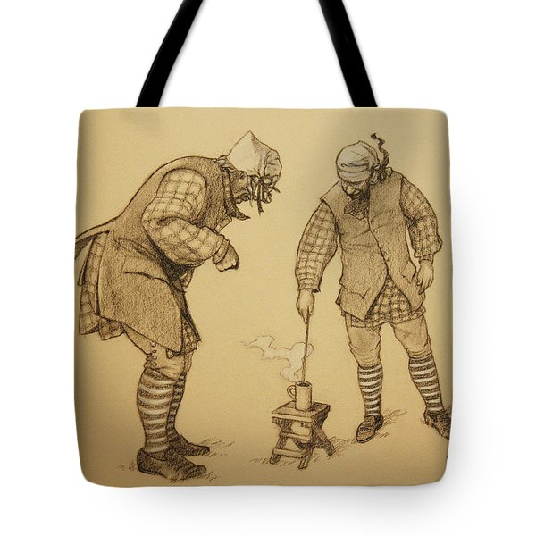 Hot Toddy Tote Bag