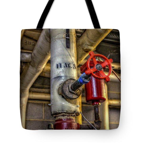 Hot Water Supply Tote Bag