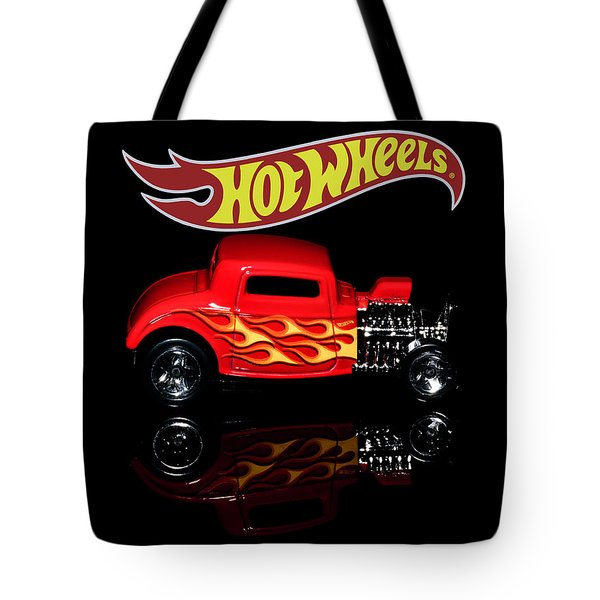 Tote Bag featuring the photograph Hot Wheels '32 Ford Hot Rod by James Sage