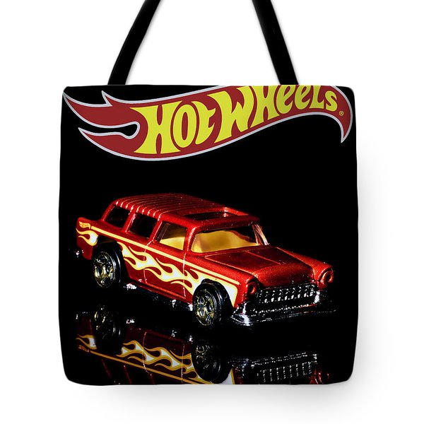 Hot Wheels '55 Chevy Nomad 2 Tote Bag