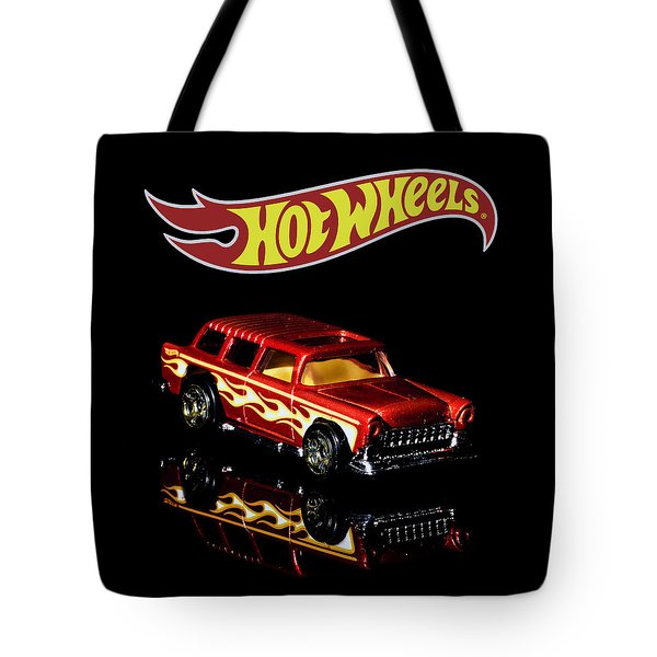 Tote Bag featuring the photograph Hot Wheels '55 Chevy Nomad 2 by James Sage