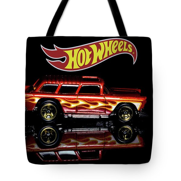 Hot Wheels '55 Chevy Nomad Tote Bag