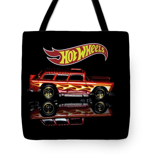 Tote Bag featuring the photograph Hot Wheels '55 Chevy Nomad by James Sage
