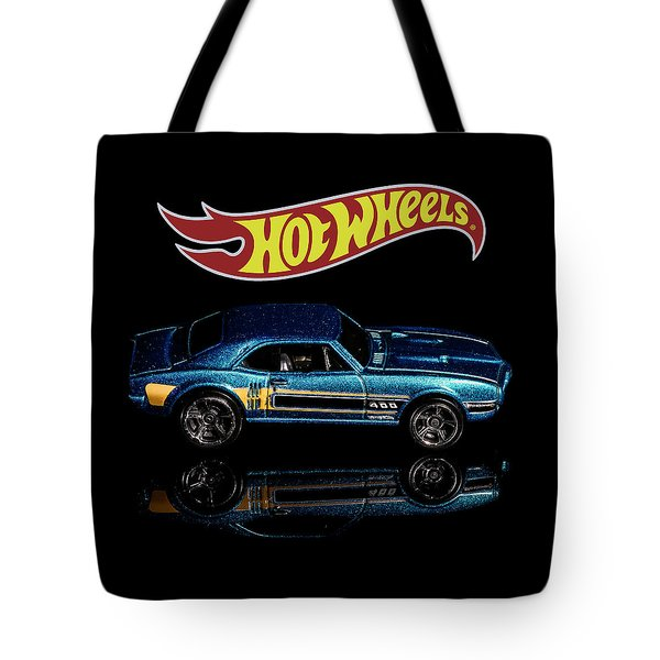 Tote Bag featuring the photograph Hot Wheels '67 Pontiac Firebird 400-1 by James Sage