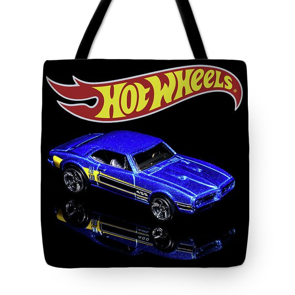 Tote Bag featuring the photograph Hot Wheels '67 Pontiac Firebird 400-2 by James Sage