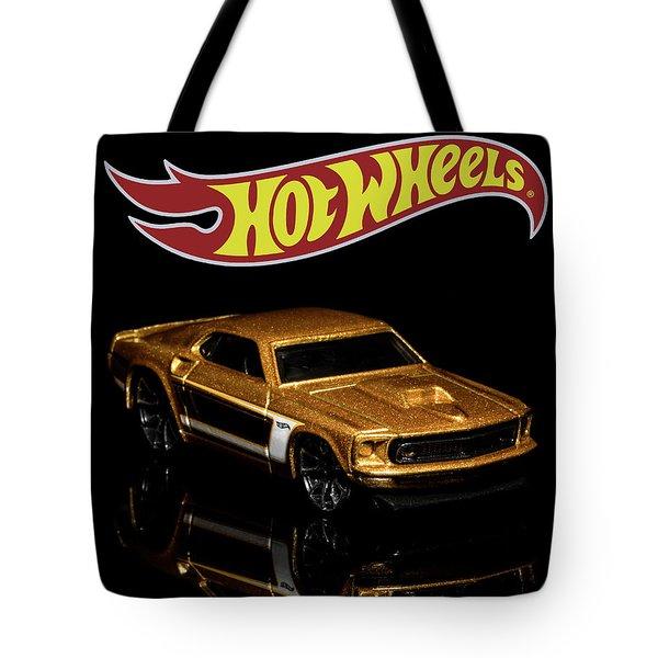 Hot Wheels '69 Ford Mustang 2 Tote Bag