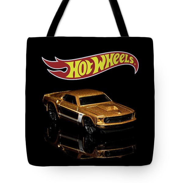 Tote Bag featuring the photograph Hot Wheels '69 Ford Mustang 2 by James Sage