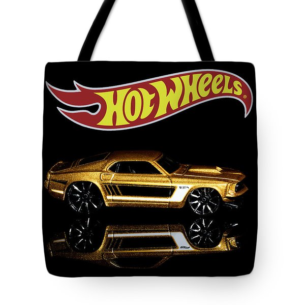 Hot Wheels '69 Ford Mustang Tote Bag