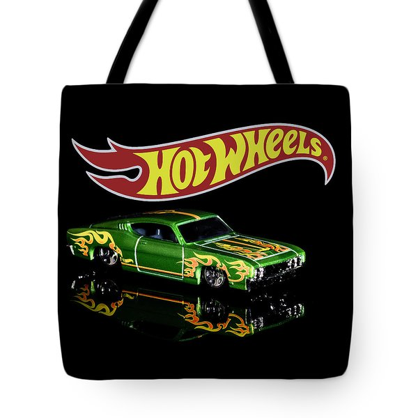 Tote Bag featuring the photograph  Hot Wheels '69 Ford Torino Talladega by James Sage