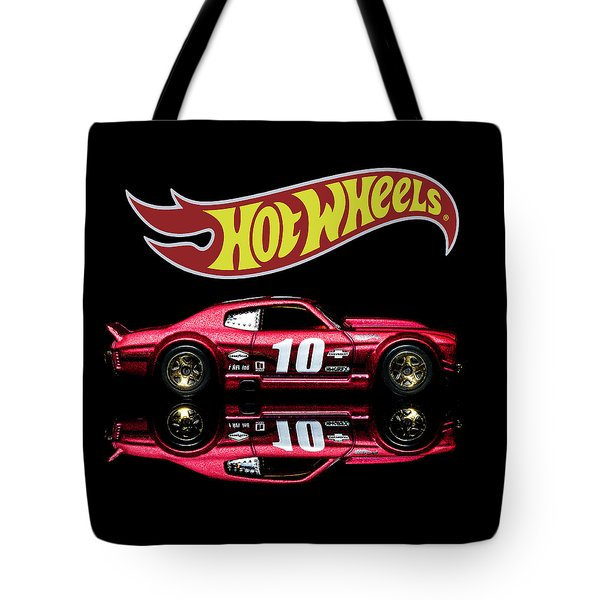 Tote Bag featuring the photograph Hot Wheels '70 Chevy Chevelle-1 by James Sage