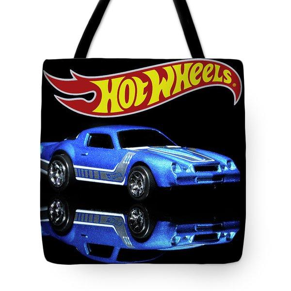 Hot Wheels Gm Camaro Z28 Tote Bag