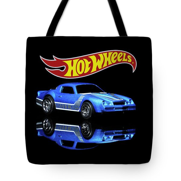 Tote Bag featuring the photograph Hot Wheels Gm Camaro Z28 by James Sage