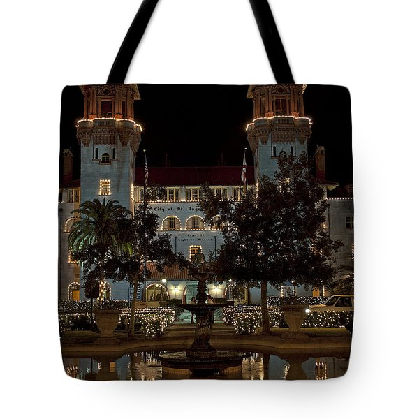 Hotel Alcazar Tote Bag by Kenneth Albin