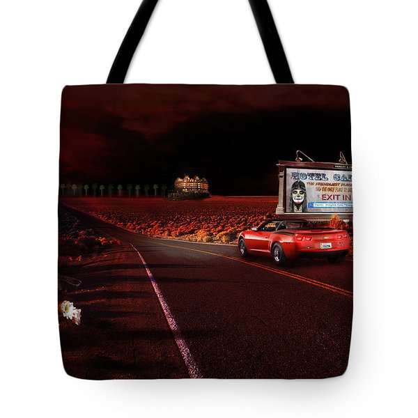 Hotel California Tote Bag by Michael Cleere