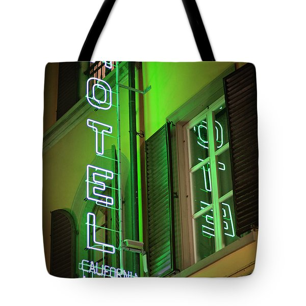 Hotel California - Rome Italy Photography Tote Bag by Melanie Alexandra Price