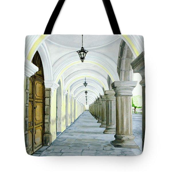 Hotel Casa Mia Tote Bag