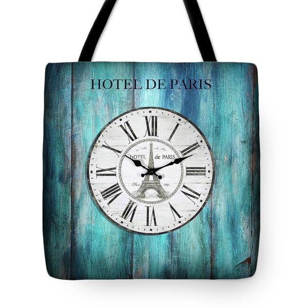 Hotel De Paris Tote Bag