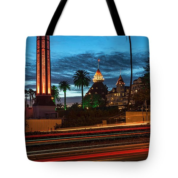 Tote Bag featuring the photograph It's Still Standing by Dan McGeorge