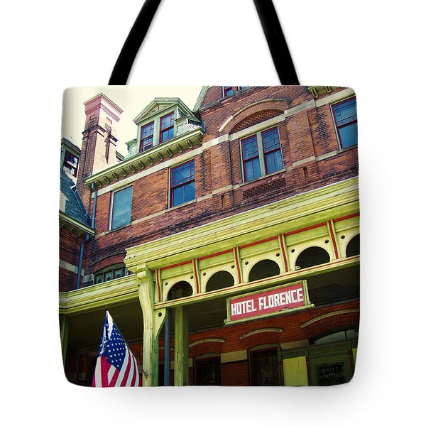 Tote Bag featuring the photograph Hotel Florence Pullman National Monument by Kyle Hanson