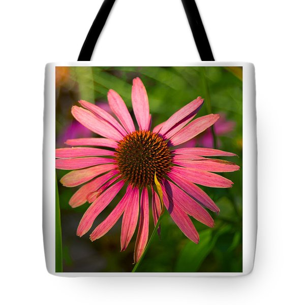Tote Bag featuring the photograph Hotel Garden by R Thomas Berner