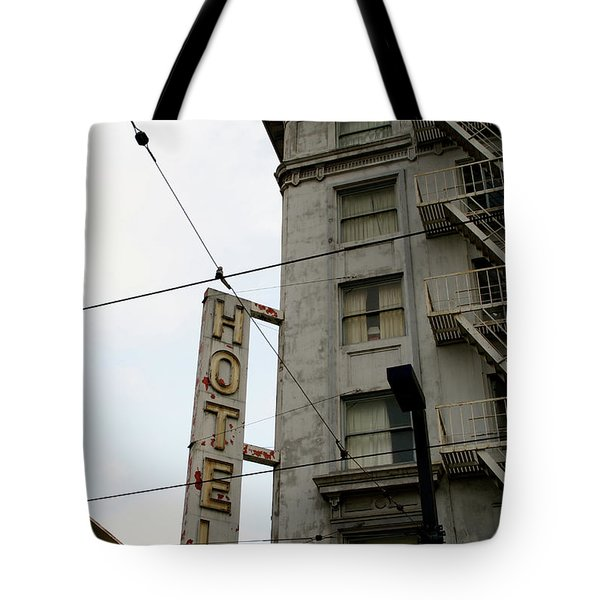 Hotel Tote Bag by Linda Shafer