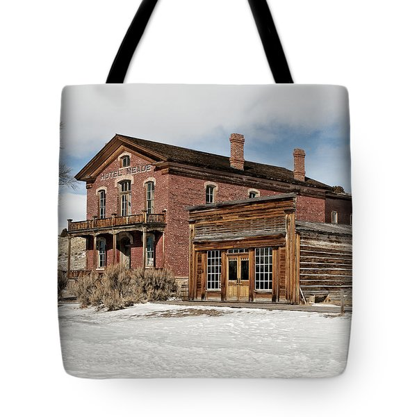 Hotel Meade And Saloon Tote Bag