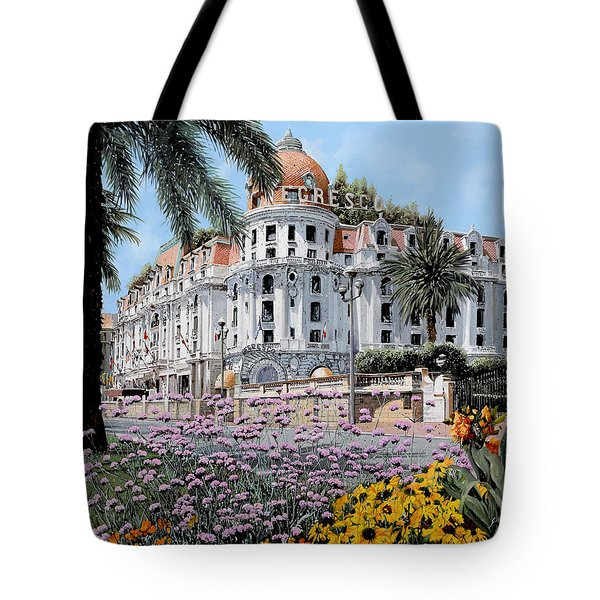 Hotel Negresco  Tote Bag