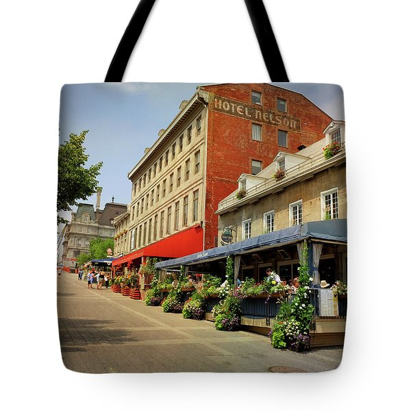 Hotel Nelson - Place Jacques Cartier Tote Bag
