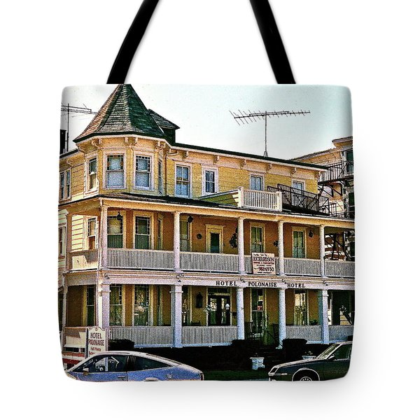 Hotel Polonaise Tote Bag