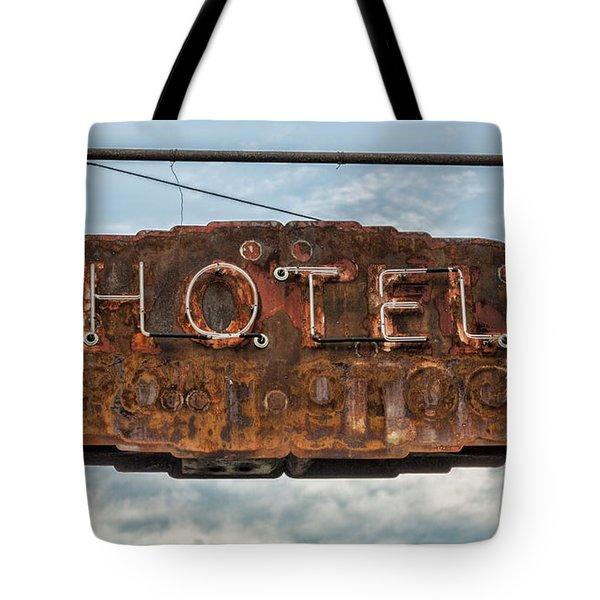 Hotel Pontotoc Tote Bag