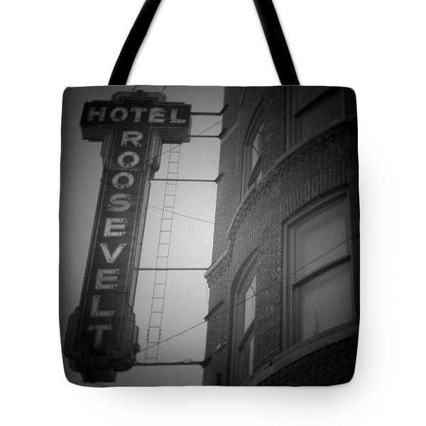 Tote Bag featuring the photograph Hotel Roosevelt by Kyle Hanson
